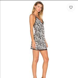 43f565bb7f8f NBD Dresses   Sloan Dress In Silver Sequin   Poshmark